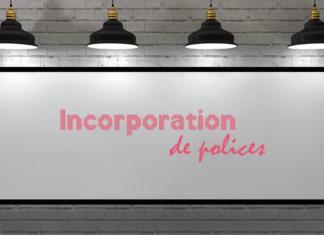 polices de caractères - InDesign, Photoshop & Illustrator