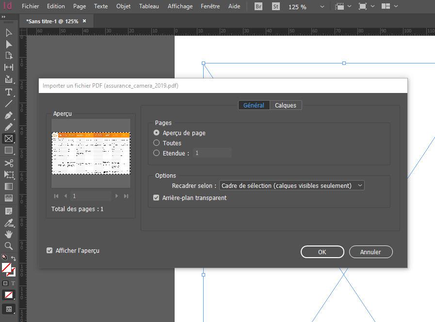 Comment compresser un PDF avec Indesign