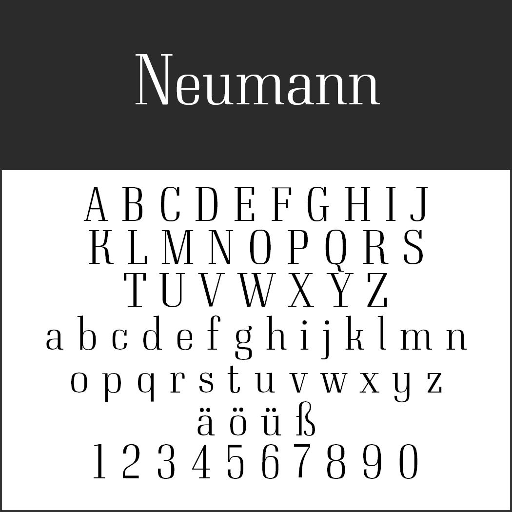 Neumann by typedepot